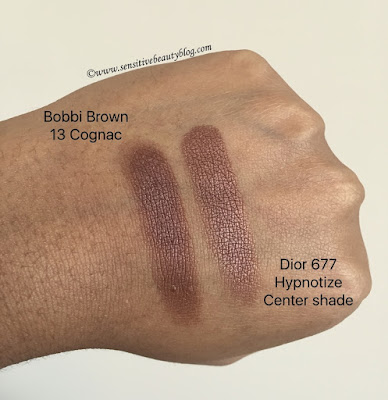 Bobbi Brown Cognac vs Dior 677 Hypnotize