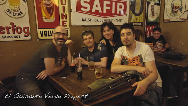Delirium Cafe - Bruselas, por El Guisante Verde Project