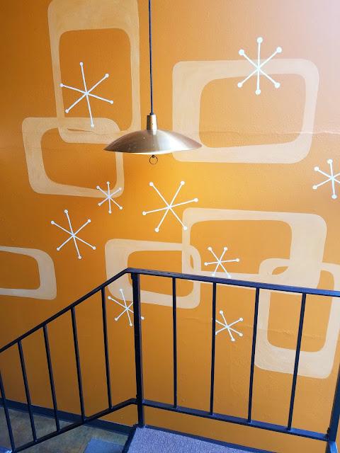 50s pattern, mid-century modern, mid-century design, mod, atomic starburst