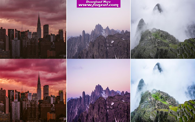 35 Landscape Lightroom presets