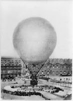 picture of early gas balloon