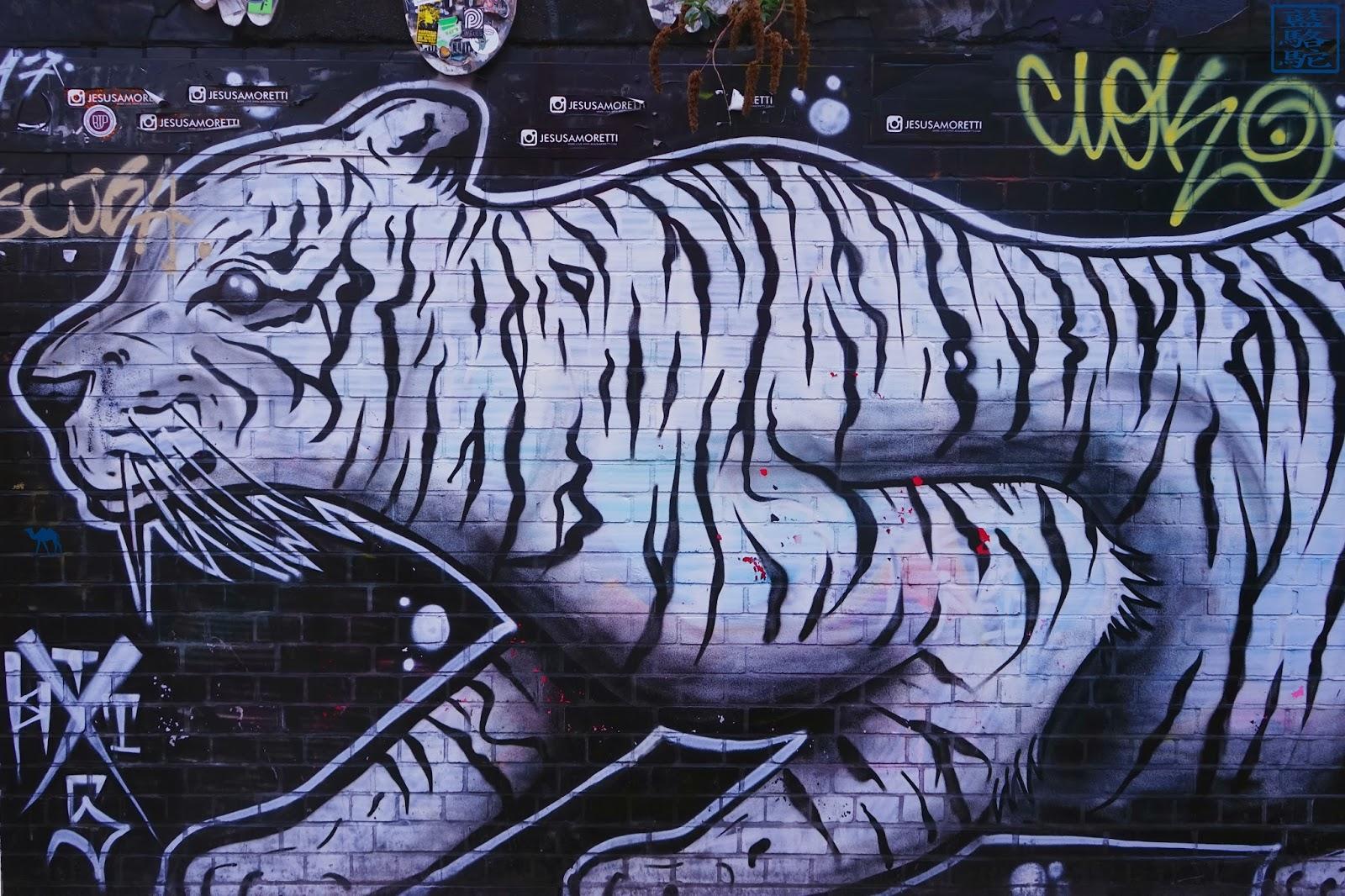 Le Chameau Bleu - Blog Voyage Londres UK - Visite du Street Art de Londres