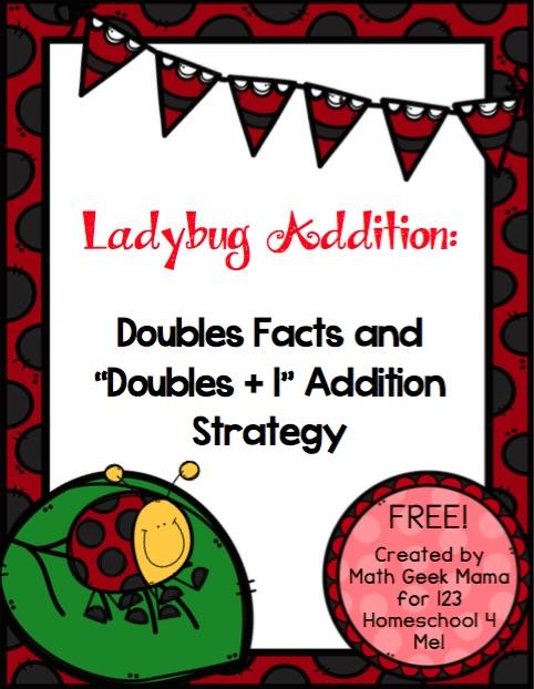 Ladybug Addition Math Game