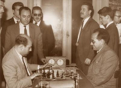 Arturo Pomar y Jaume Mora en 1964