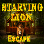 Play 8BGames Starving Lion Escape