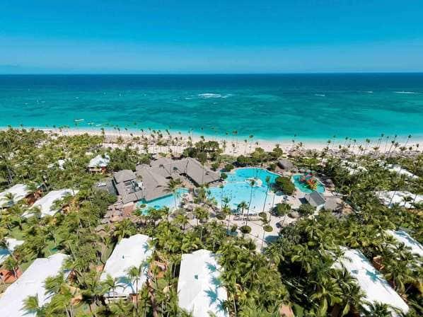 Plage playa Bavaro à Punta Cana en République Dominicaine
