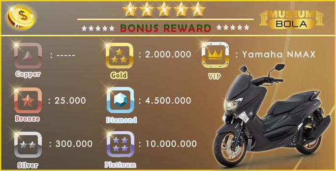 Bonus Reward Yamaha NMAX