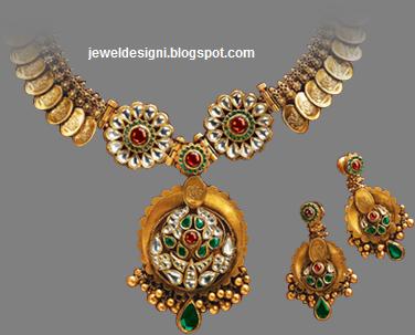 Designer Antique Diamond Necklaces