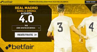 betfair supercuota victoria del Real Madrid al Girona 29 octubre