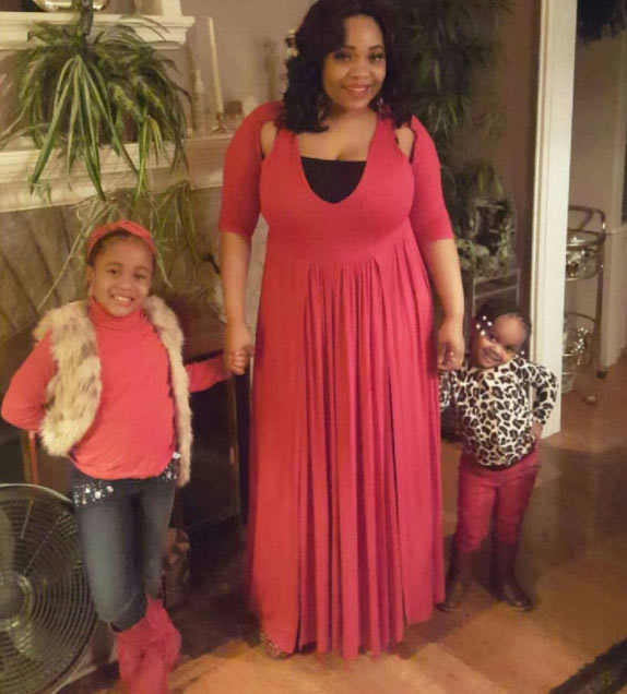 Blog reader Nani Blessed shows off her adorable family