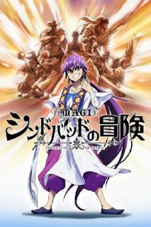 detail dan nonton trailer Anime Magi: Sinbad no Bouken (2015)