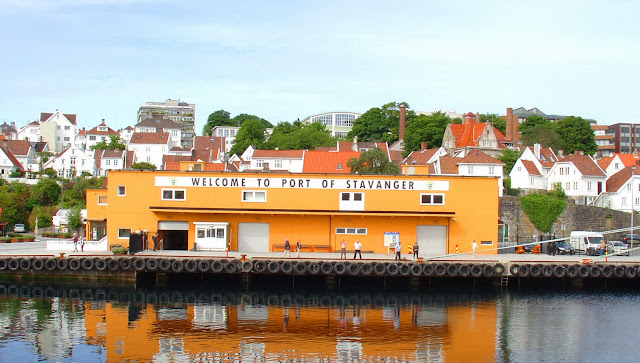 Welcome to the Port of Stavanger.