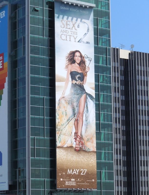 Sex and the City 2 movie billboard