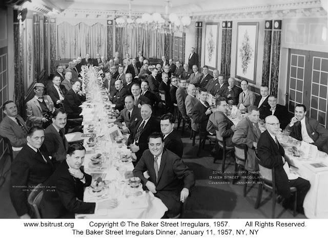 The 1957 BSI Dinner group photo
