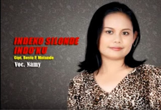 Lirik Lagu Toraja Indeko Silonde Indo'ku (Namy)