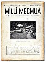 Milli Mecmua'nın eski bir sayısı