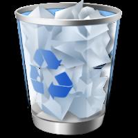 hapus file di recycle bin untuk mengatasi kursor loading sendiri di windows