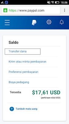 cara transfer uang dari paypal ke rekening bank indonesia