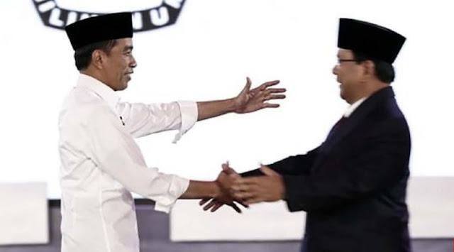 Jokowi dan Parbowo akan berhadapan di debat Pilpres 2019 putaran kedua.