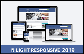premium N Light Responsive Blogger Templates Free (2019)