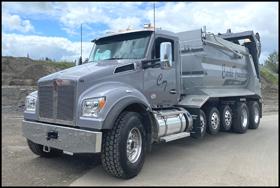 Carli Trucking Kenworth T880S Dump Truck