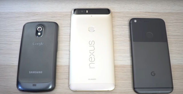 Google Pixel XL vs Nexus smartphone