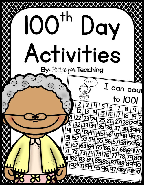 https://www.teacherspayteachers.com/Product/100th-Day-Activities-2015957