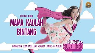 Not Angka Lagu Mama Kaulah Bintang Romario Piano