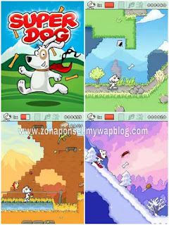 Super Dog game ponsel Java jar