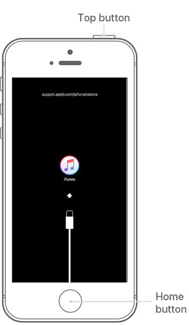 Masuk Recovery Mode iPhone 6S, iPad Dan iPod Touch