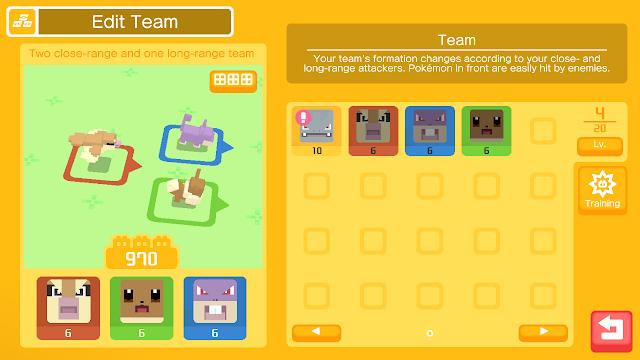 Game Android Gratis RPG Pokemon Quest Dengan Grafis Kotak-Kotak