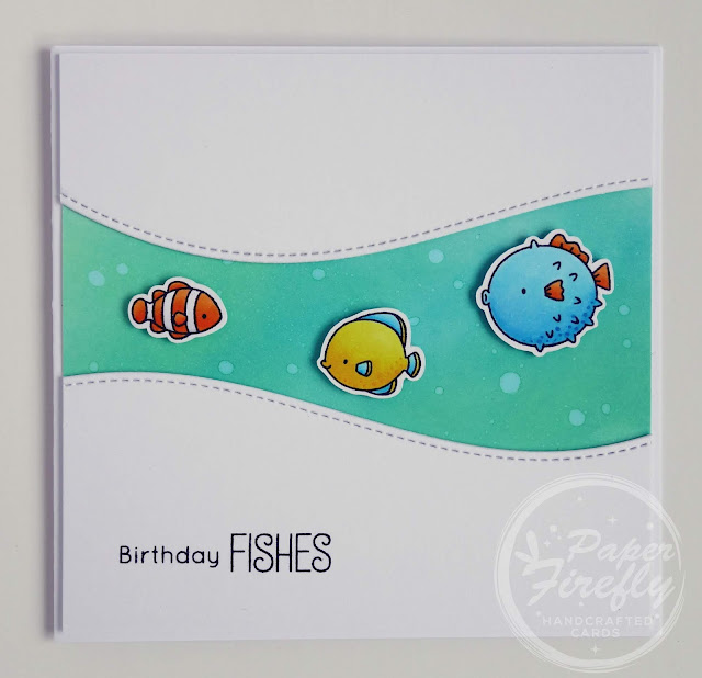 Handmade funny birthday card (using Gill Friends stamps from My Favorite Things)