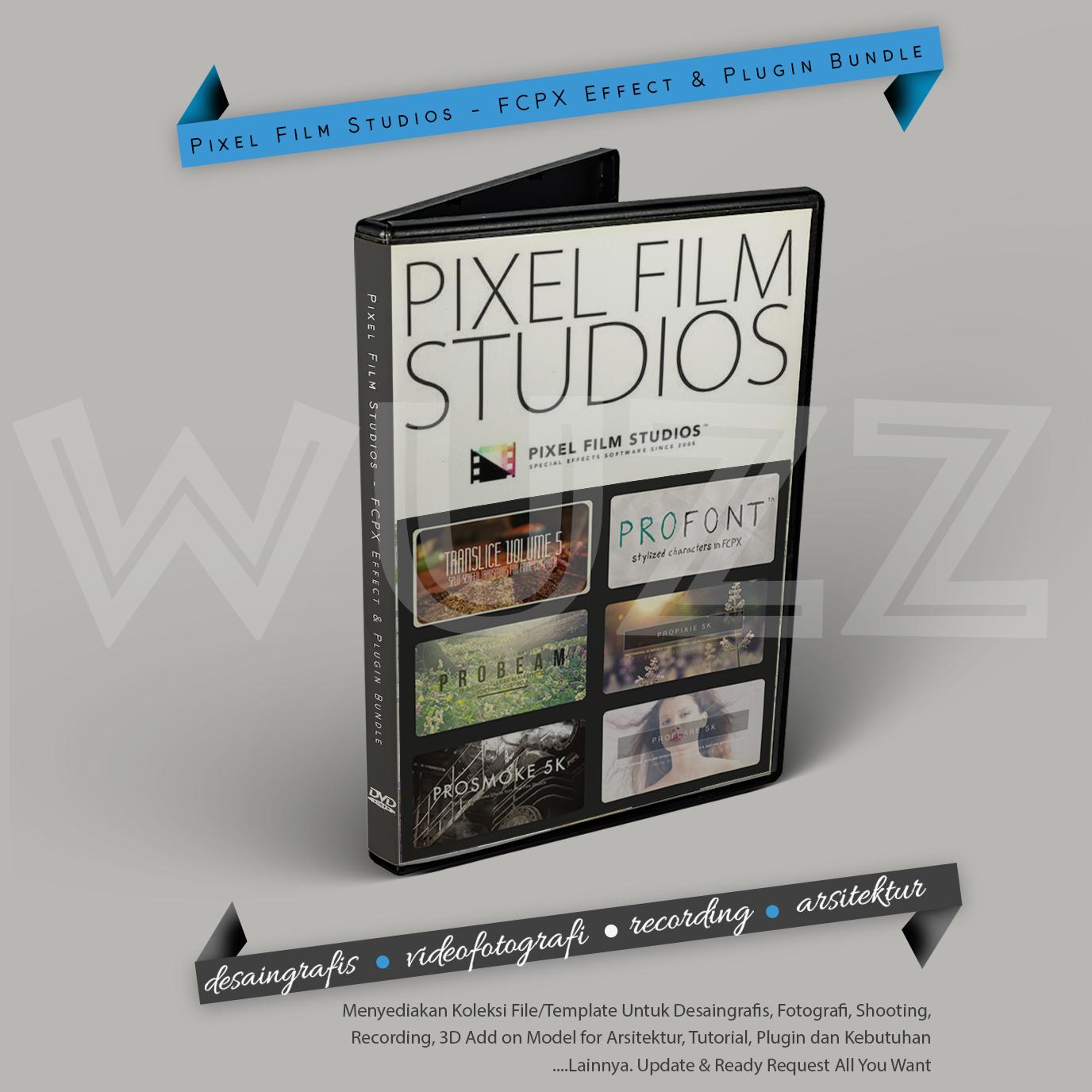 Pixel Film Studios - FCPX Effect Plugin Bundle - Pin. 57D07DEB   WA ...