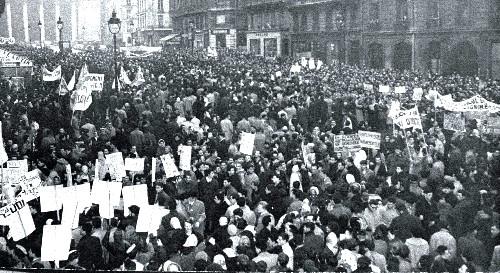 Maio de 68, Movimento Estudantil de Paris na França