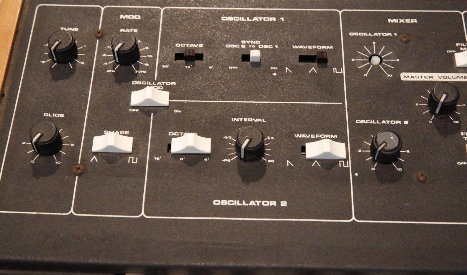 MATRIXSYNTH: Moog Prodigy 336A Analog Monophonic Synthesizer SN 2975