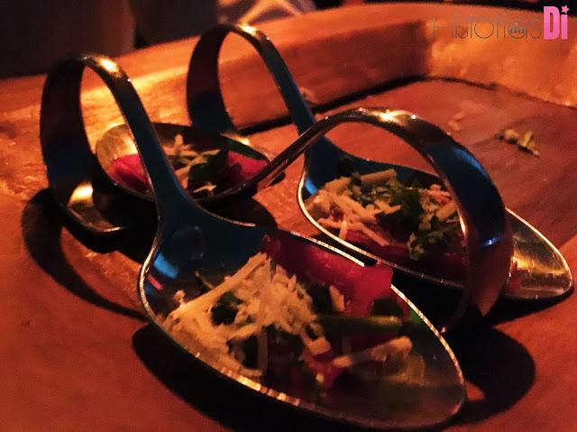 Muitas comidinhas deliciosas na Festa Glamurama