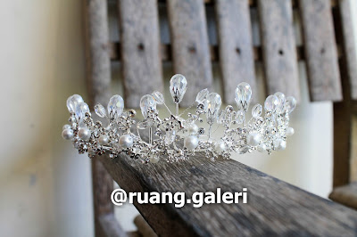 Persewaan Mahkota Pengantin, Wedding Crown Rental Jogja