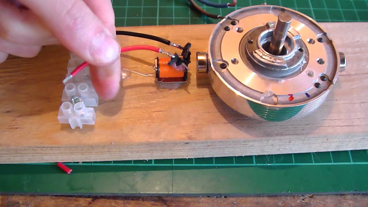 Build a Reed Switch Motor