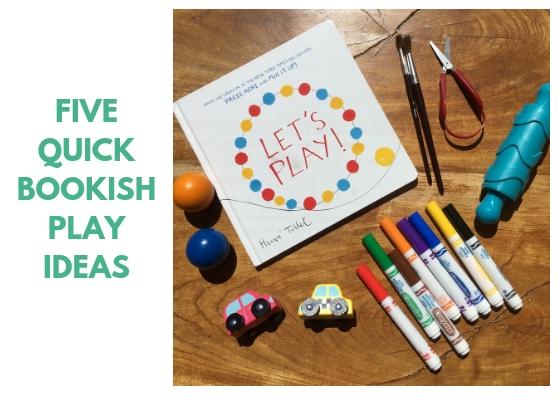 Bookish Play: Five Ideas - BookBairn