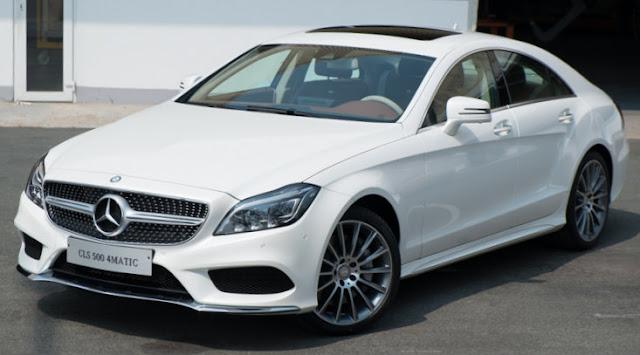Mercedes CLS 500 4MATIC thiết kế thể thao, vận hành cực kì an toàn