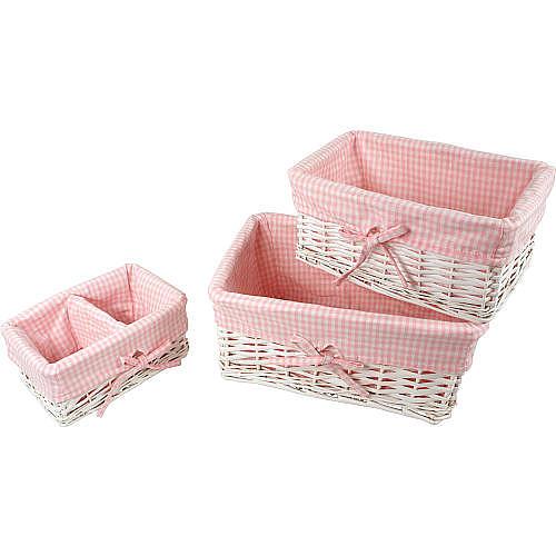 Cosy Baby Nursery Storage Baskets