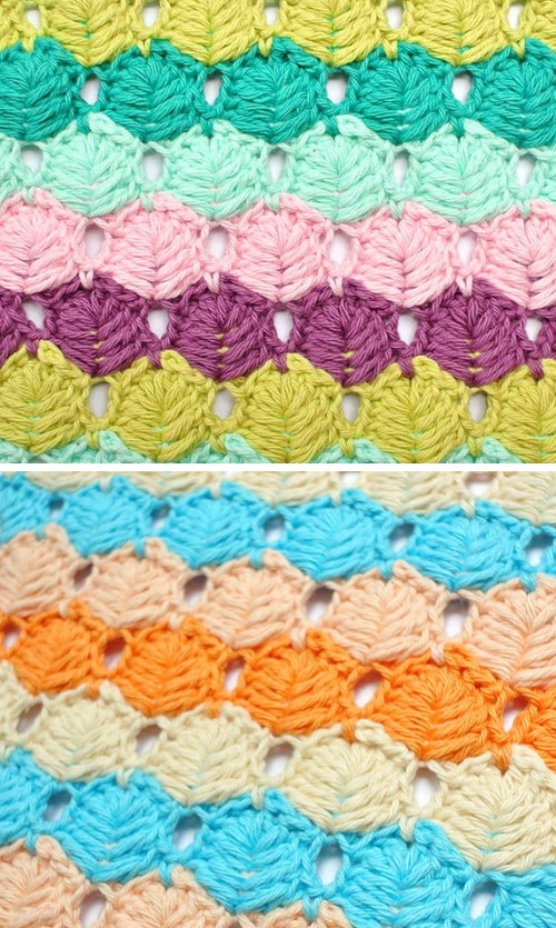 Crochet Leaf Stitch - Free Pattern