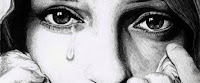 girl in tear