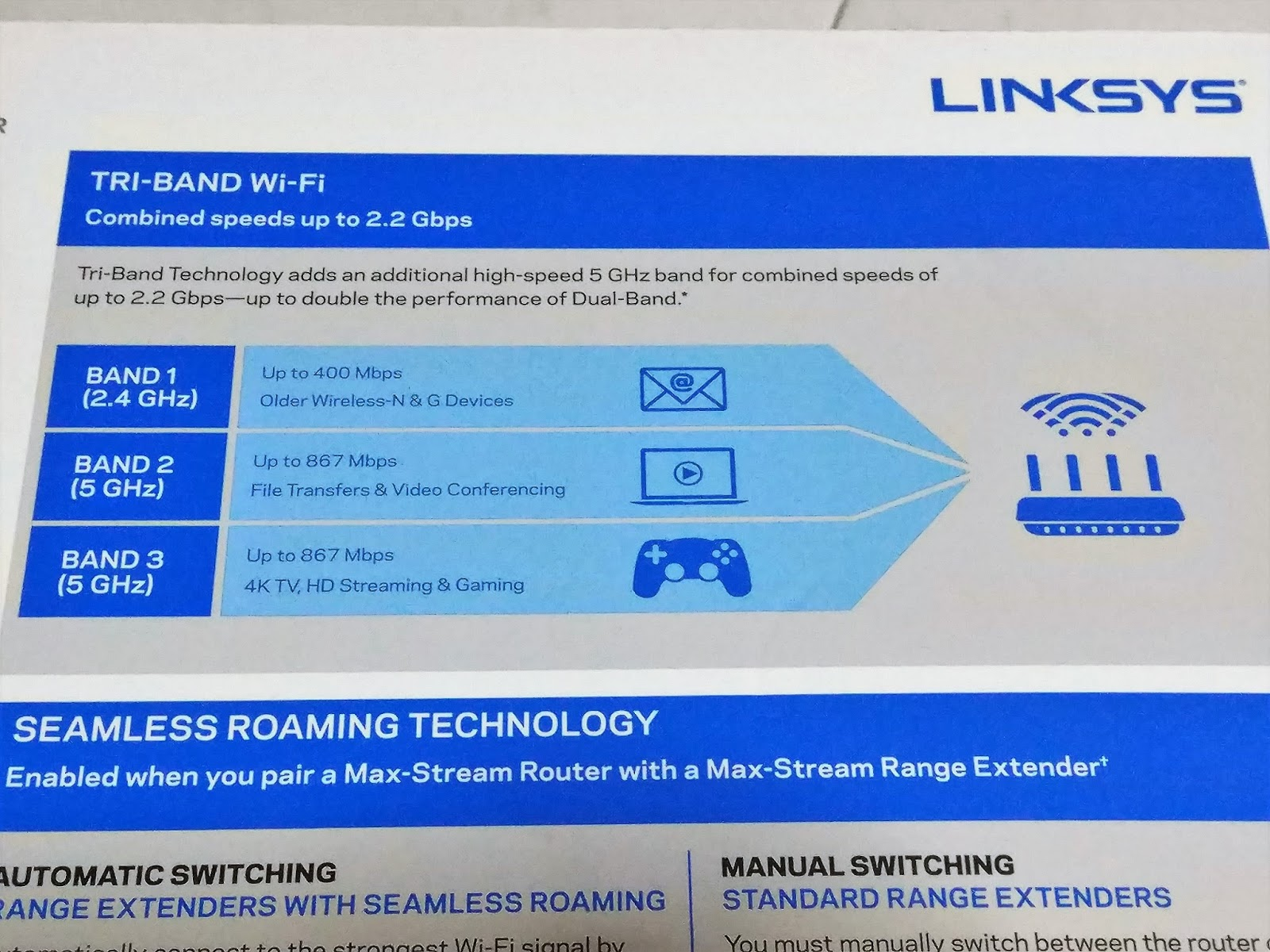 Review of the Linksys Max-Stream AC2200 Tri-Band Router - The