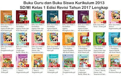 Buku Kurikulum 2013 Kelas 1 Tema Kegiatanku Revisi 2017