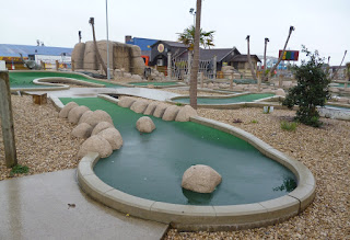 Congo Adventure Golf at Brean Leisure Park in Brean Sands, Somerset