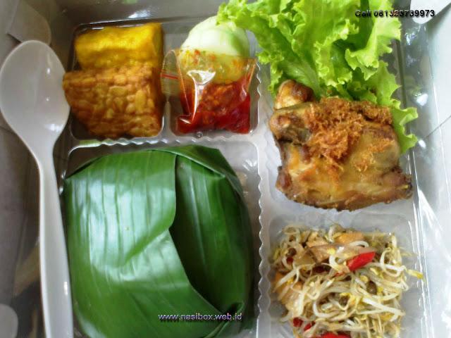 Nasi box urang ciwidey