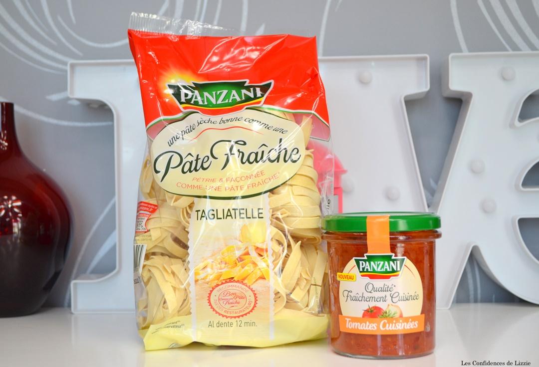 pate fraiche - sauce tomates maison - pate seche