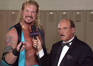 WCW WORLD WAR 3 1996 - Mean Gene interviewed Diamond Dallas Page