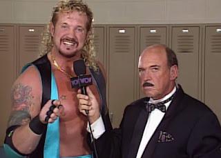 WCW WORLD WAR 3 1996 - Mean Gene interviewed Diamond Dallas Page